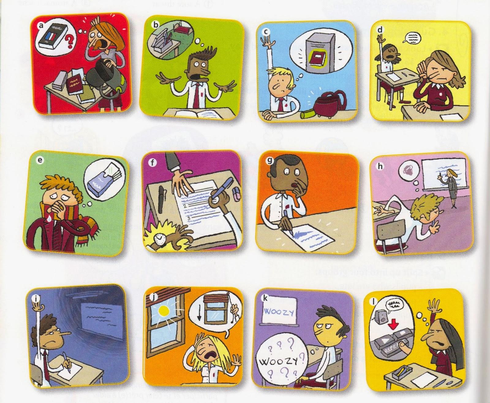 Classroom English Phrases