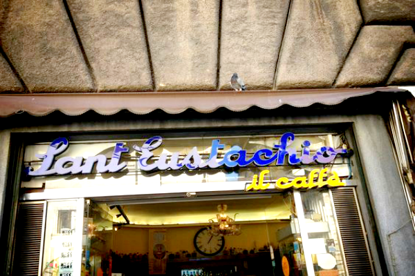 3 days in Rome - Caffe Sant' Eustachio