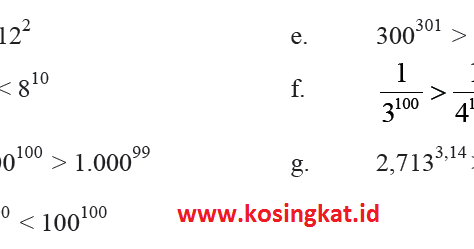 Kunci Jawaban Matematika Kelas 7 Halaman 86 87 Ayo Kita Berlatih 1 7 Kosingkat
