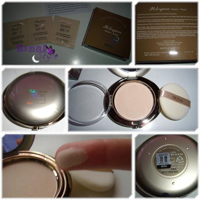 vip gold hologram pearl pack skin79
