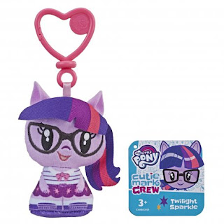 My Little Pony Cutie Mark Crew Twilight Sparkle Equestria Girls Keychain Plush