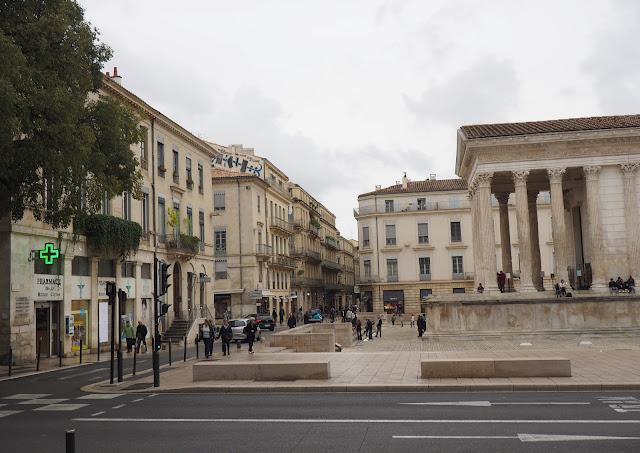 Ним, Франция - Мезон Карре (Nimes, France - Maison Carré)