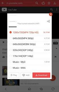 تحميل برنامج فيت ميت VidMate – HD video downloader