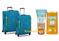 Logo Clinians ''Metti l'estate in valigia'': vinci Set valigie Roncato e voucher viaggio da 1500 euro