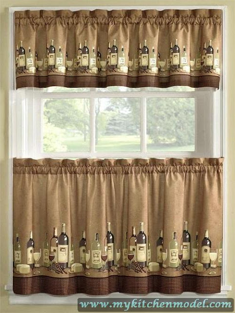 Wine Curtains For Kitchen