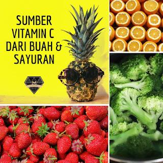 Sumber Vitamin C Dari Buah & Sayuran
