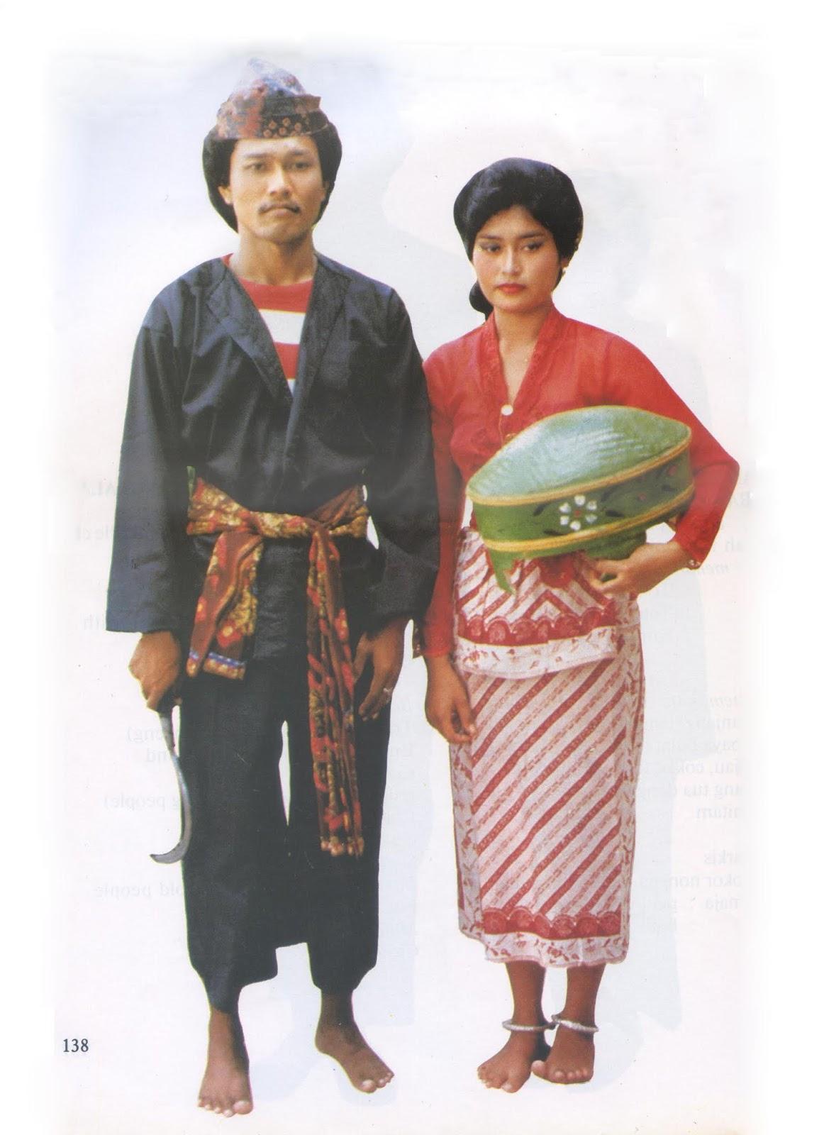 Pakaian Adat Pangsi Banten
