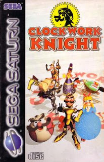 Clockwork Knight Sega Saturn cover art