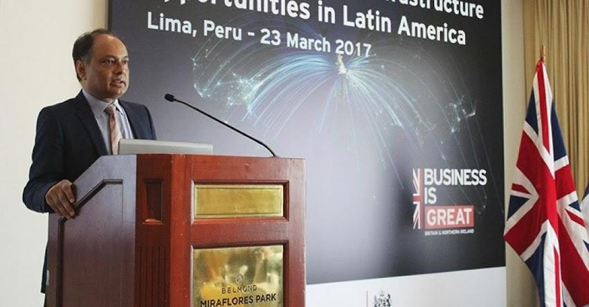 El Reino Unido brindará más de mil millones de dólares al Perú para financiar proyectos de infraestructura