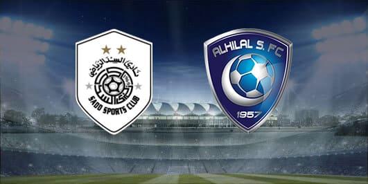 مباراة الهلال والسد القطري بتاريخ 22-10-2019 دوري أبطال آسيا