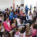 Estudantes do 5° ano da Escola Odilon Sena Cerqueira de Várzea da Roça visitam a 91ª CIPM em Capim Grosso