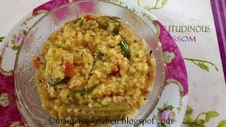 Tamilnadu Style Sambar Rice. Easy to make Lunchbox Recipe
