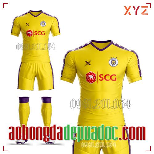 Áo Hà Nội FC 2019 Màu Vàng