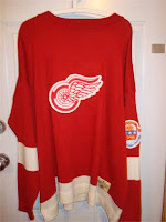 NHL CCM Heritage Jersey Collection - Detroit Red Wings Circa 1951