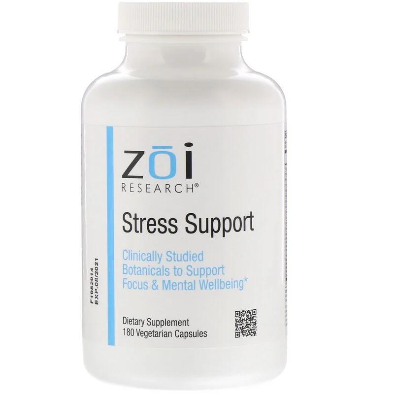 ZOI Research, Антистрессовое средство, 180 вегетарианских капсул