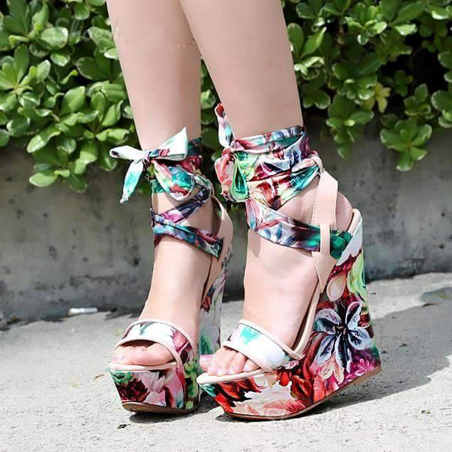 88b936549edd1 Many girls who love wedge heels ordered this one. They think it s not only  very beautiful also very comfortable. To many girls who barely wear high  heels