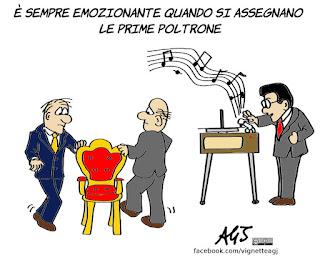 presidenze, camera, senato, legislatura, poltrone, parlamento, vignetta, satira