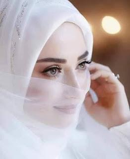تنزيل صور عرايس محجبات جميلة شيك بالفستان الابيض
