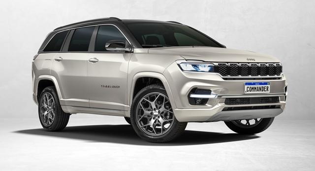 Bridgestone fornece pneus premium para o novo Jeep Commander
