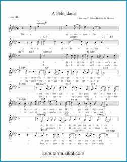 chord a felicidade 1 lagu jazz standar