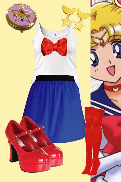 Reizende Rundungen Sailor Moon Cosplay Inspiration