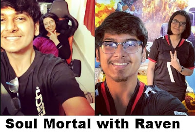 Soul Mortal taking selfie with Raven