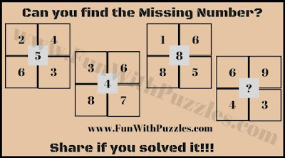 Printable Maths Puzzle Picture image