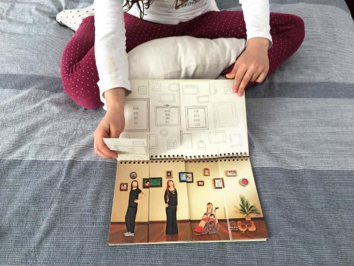 Cuento, libro infantil Familiarium, diversidad familiar
