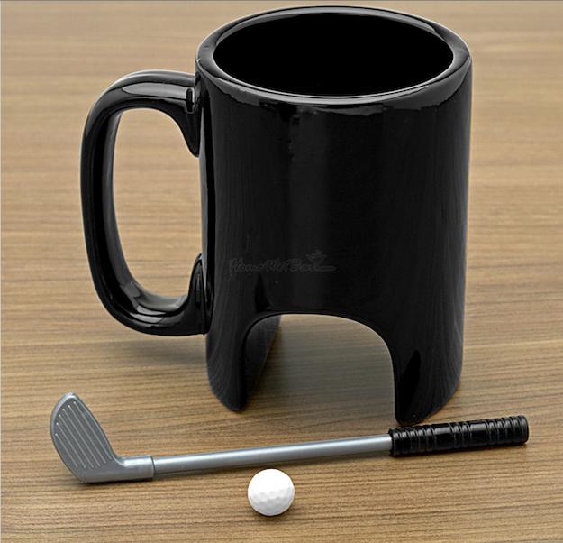 taza juego de golf