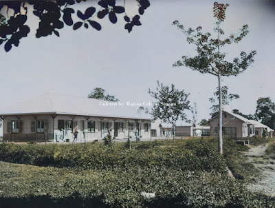 rumah sakit di kamp militer di sidikalang