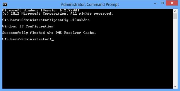 Cara Membersihkan DNS Cache Windows