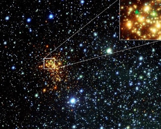 bintang uy scuti dilihat dari bumi