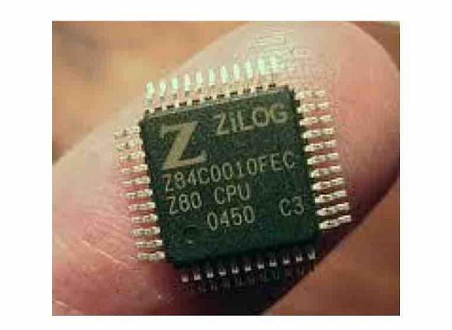 1974: 8080 Mikroprosesor