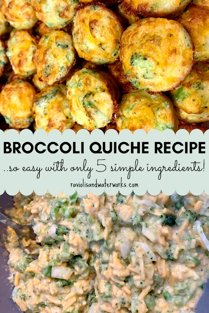 easy and delicious broccoli quiche recipe without a crust