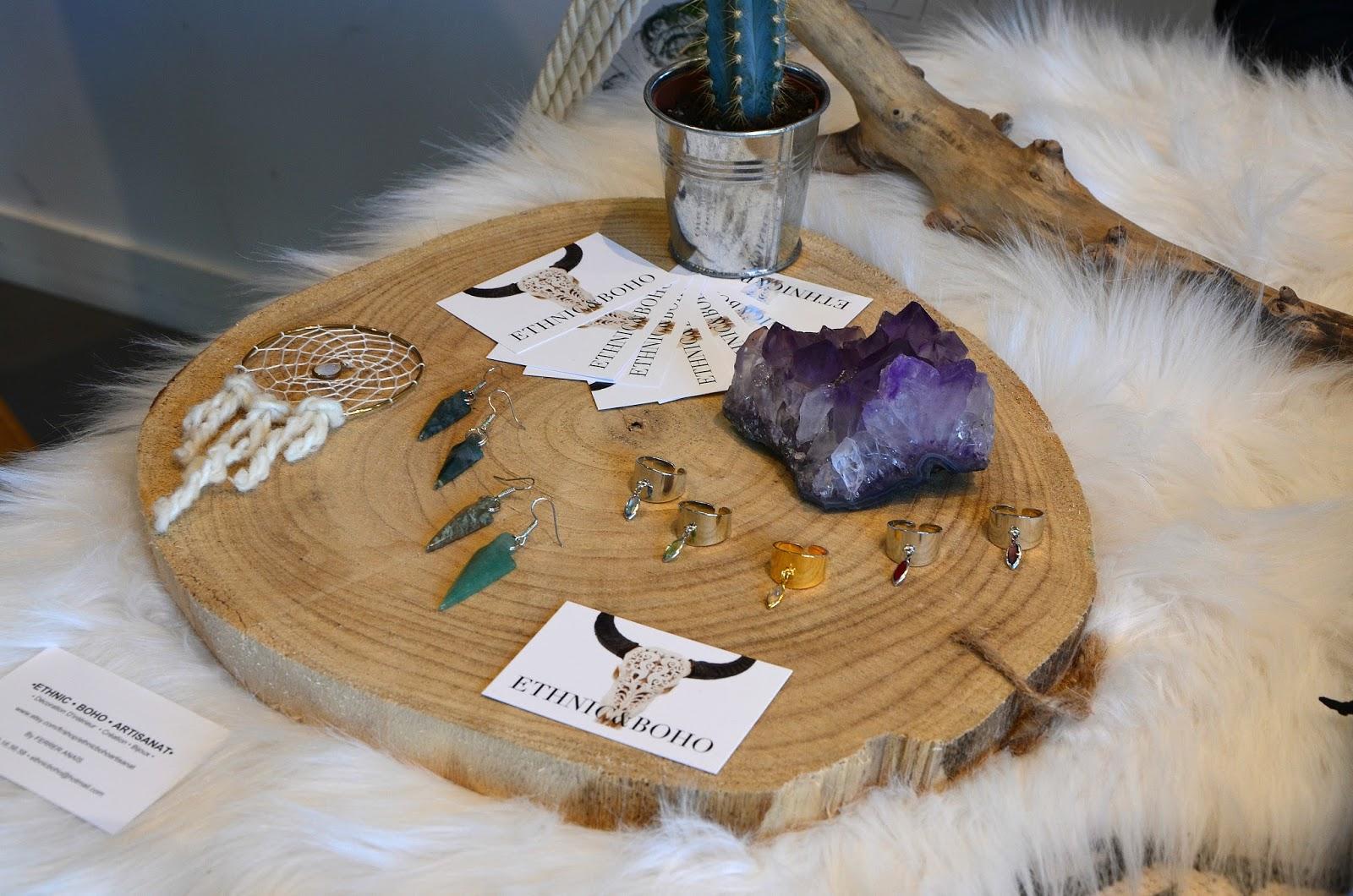 ethnic boho, créateur de bijoux ethniques