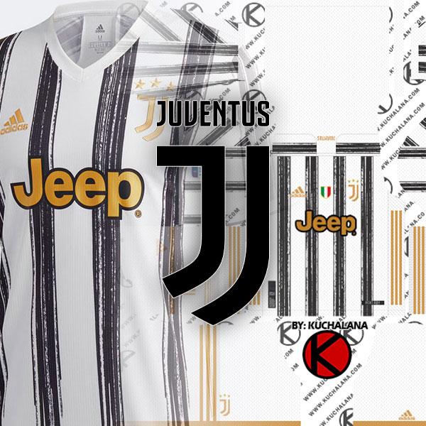 Juventus Adidas Kits 2020-2021 -  DLS2019 Kits