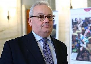 سفير ايطاليا بالقاهرة يشيد بدور مصر الهام في المنطقة والتعاون مع بلاده للقضاء على الارهاب