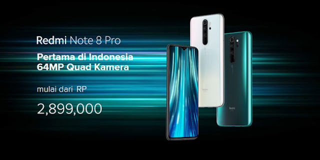 Spesifikasi lengkap Redmi Note 8 Pro