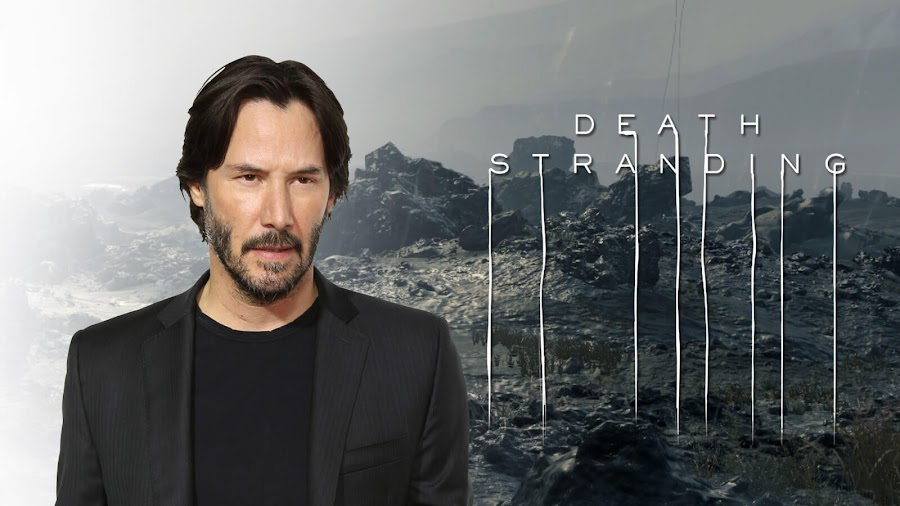 keanu reeves death stranding villain hideo kojima sony interactive ps4 kojima productions