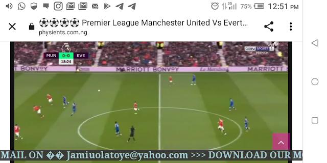 ⚽⚽⚽⚽ Premier League Manchester United Vs Everton Live HD ⚽⚽⚽⚽