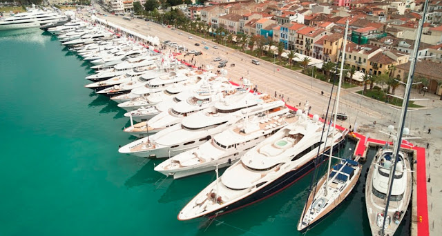 Ακυρώνονται διεθνείς Ναυτικά σαλόνια - Τι θα γίνει με το 7ο Mediterranean Yacht Show στο Ναύπλιο