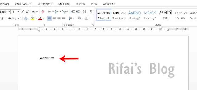Menulis Huruf Jawa (Hanacaraka) Di PC/Laptop ~ Rifai's Blog
