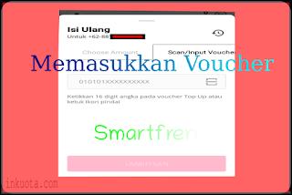 memasukkan voucher smartfren