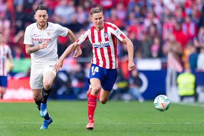 ترتيب الدوري الاسباني بعد مباراة أتلتيكو مدريد وإشبيلية