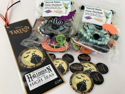 Halloween themed Disney Cruise pixie dust
