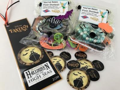 Halloween themed Disney Cruise pixie dust