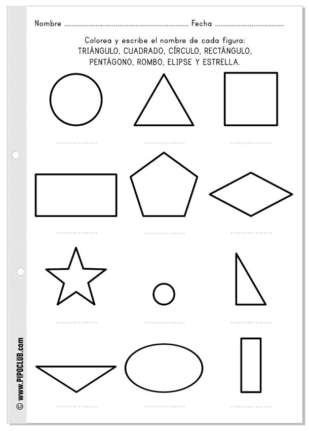 Juegos Educativos Pipo Matemáticas Figuras Y Mitades