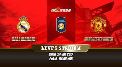 Prediksi Skor International Chmapions Cup, Real Madrid vs Manchester United 24 Juli 2017