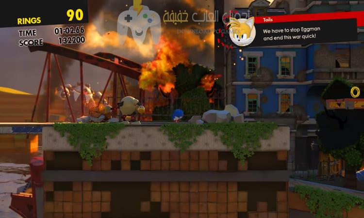 تحميل لعبة Sonic Forces مضغوطة بحجم صغير