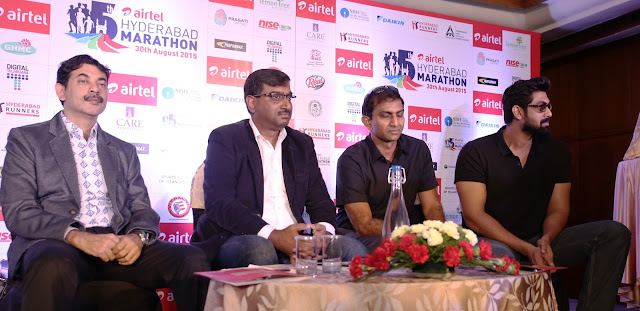 Govt. of Telangana joins Hyderabad Runners to support Airtel Hyderabad Marathon to be held on 30th August